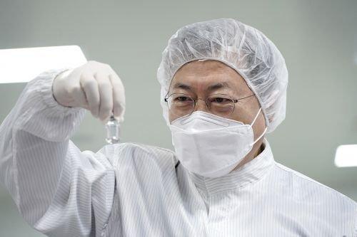 문재인대통령 최소잔여형(LDS) 백신주사기 생산 현장 방문 모두발언