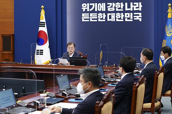 문재인대통령 수석보좌관회의 모두발언